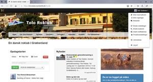 Ny hjemmeside og vedligeholdelse af dine oplysninger!