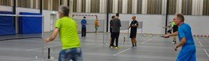 Badmintonturnering