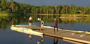 Hjelmsjö - Årets Sculler ro-lejr