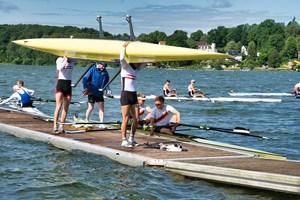 6 Roskilde roere deltog i weekenden ved årets internationale Ratzeburg regatta