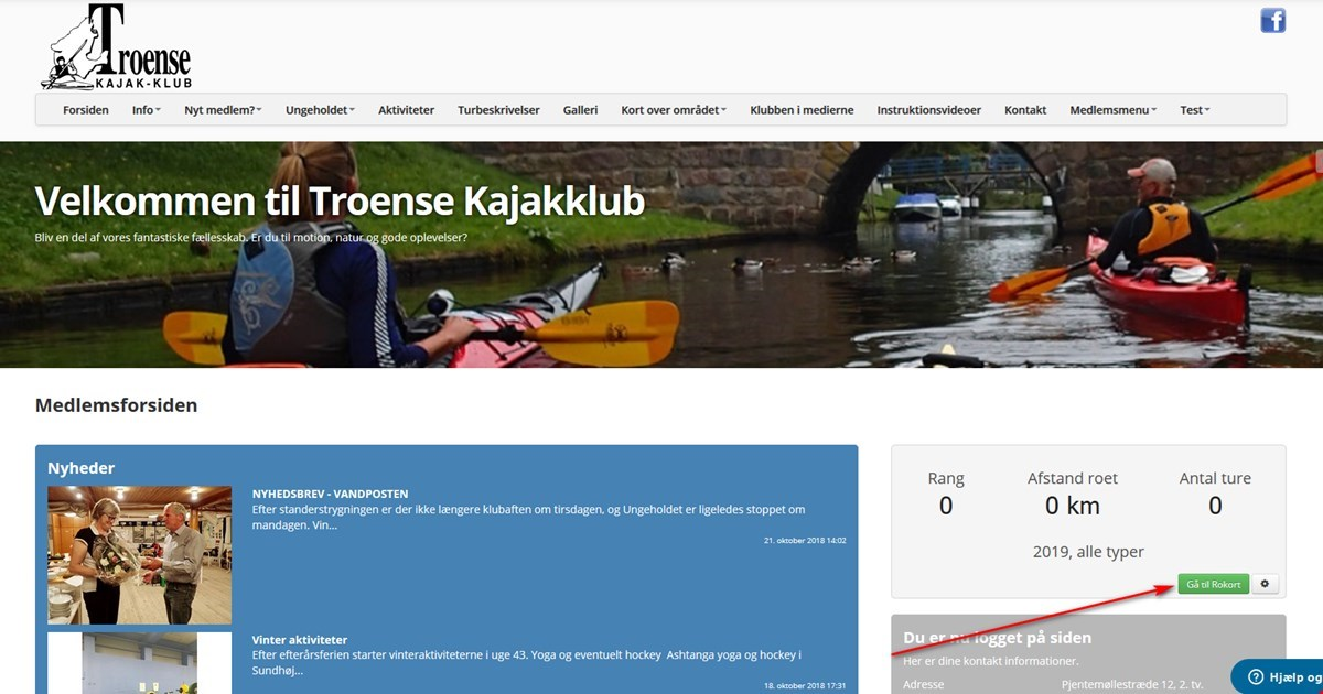 Hjemmeside - nyheder