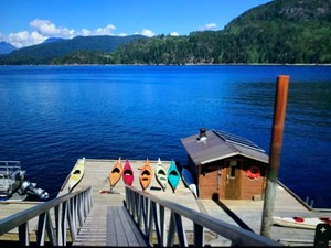 Foredrag om ekspedition til Discovery Island, Vancouver Canada