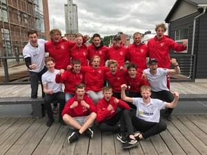 Gode takter til anden runde af Danmarksmesterkaber i kajakpolo