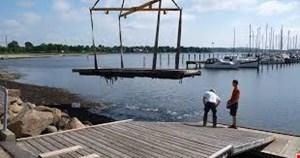 Uddybning af havn + ny bro
