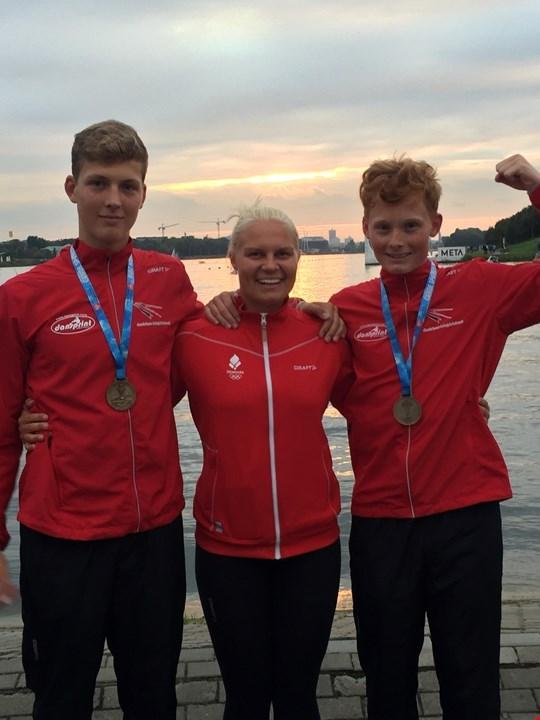 Kristoffer og William vinder Guld i Poznan
