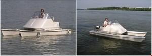 DIF/DGI støtter klubben med en ny motorbåd