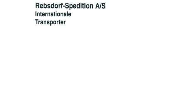 Rebsdorf Spedition