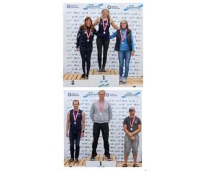 Guld til Susan Lützner og Sølv til Keld Pilegaard i DM Ocean Race i Havkajak