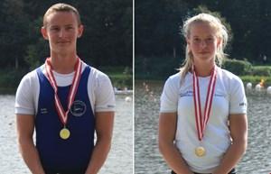5 medaljer ved Olympic Hopes Regatta, Poznan Polen 2018
