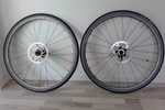 """Mavic SpeedCity hjul 700C passer til både MTB 29"""" og crosscykler. Sælges for 2.500 kr."""