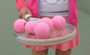 Lyserød Tennislørdag