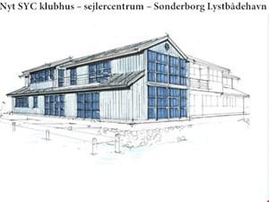 JydskeVestkysten skriver om vores klubhusbyggeri