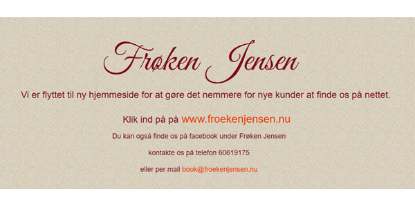 Frøken Jensen