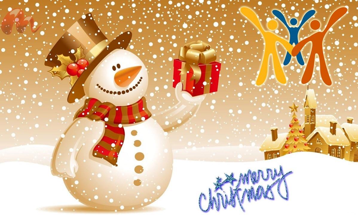 En glædelig julehilsen